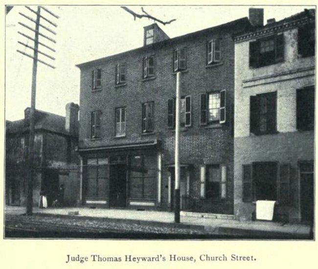 Heyward Washington House Historical