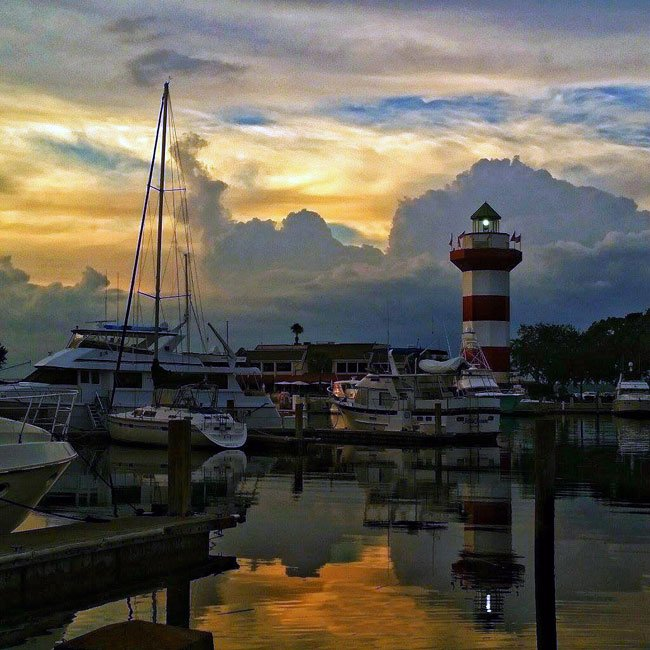 Hilton Head Harbour Town Marina