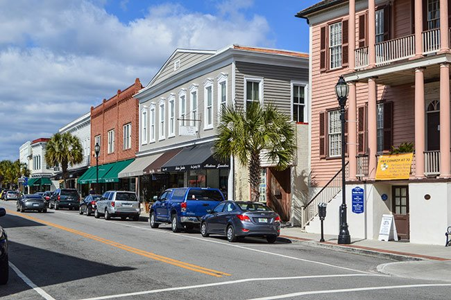 Historic Bay Street, Downtown Beaufort