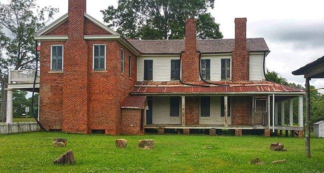 Historic Brattonsville Brick House Side
