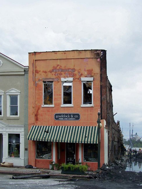 Historic Front Street Fire