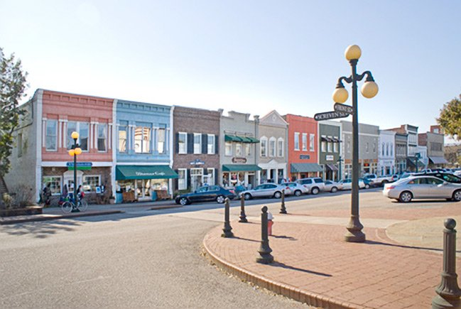 Georgetown's Historic Front Street