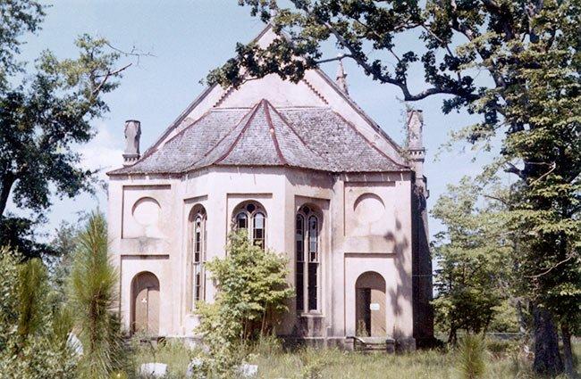 Historic Gunn Church, Rear