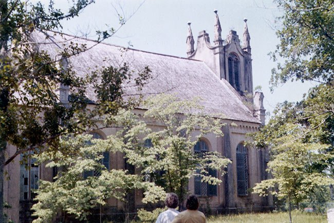 Historic Gunn Church, Side View