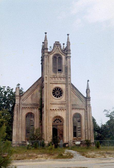 Historic Gunn Church, Tower View
