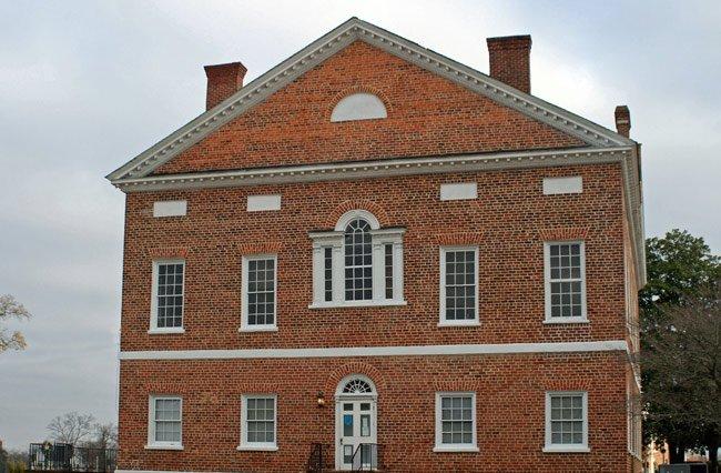 Historic Lancaster Courthouse Back
