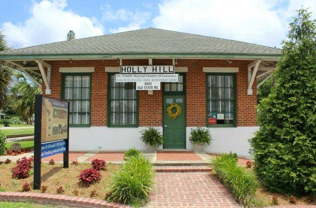 Holly Hill Train Depot
