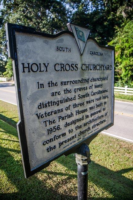 Holy Cross Churchyard Marker