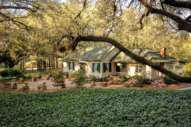 Hopelands Gardens in Aiken, South Carolina