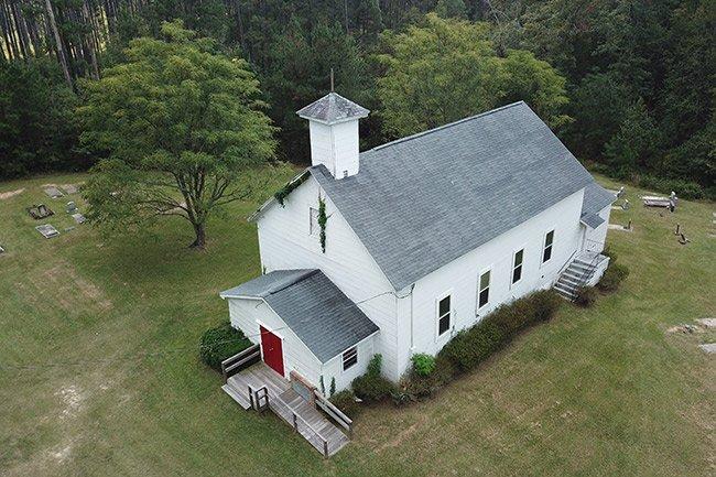 Hopewell Baptist Aerial