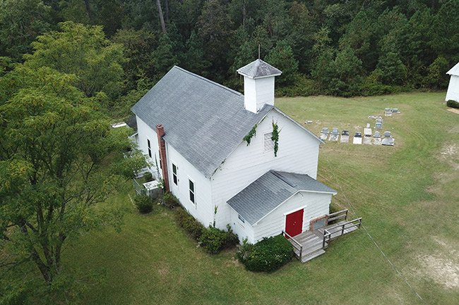 Hopewell Baptist Side Aerial