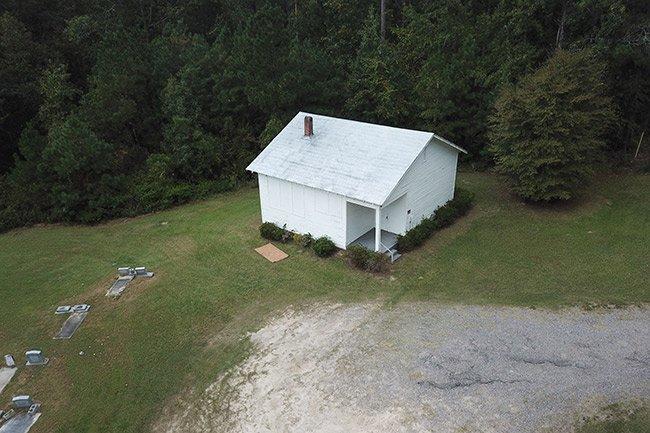Hopewell Rosenwald School Aerial