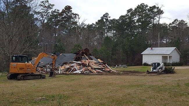 Hopewell Baptist Church, Demolished