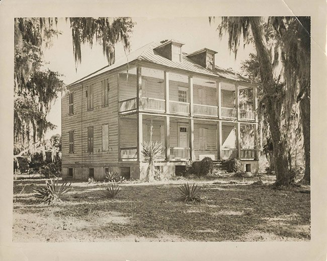 Hopsewee Plantation Historic Photo