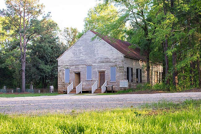 Horn Creek Baptist Church near Edgefield SC
