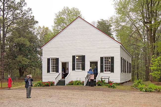 Horn Creek Church Restored