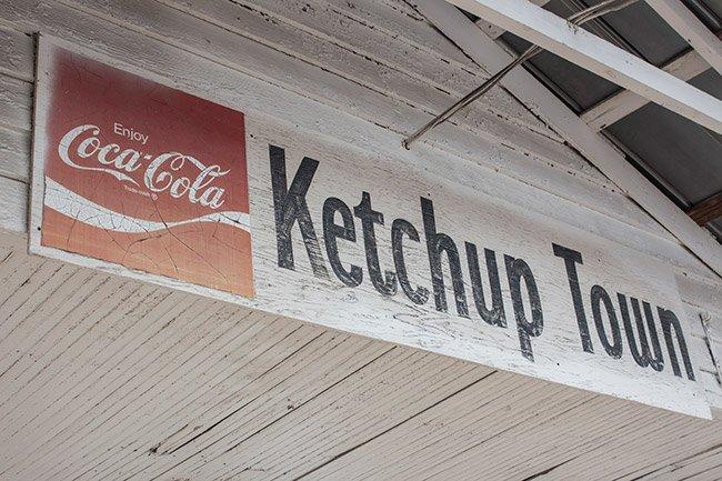 Ketchuptown Store Sign