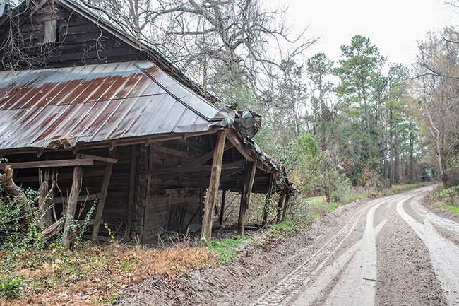 Jack's Lookout Abandoned Tobacco Packing Shed