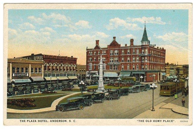Hotel Plaza, Anderson, SC
