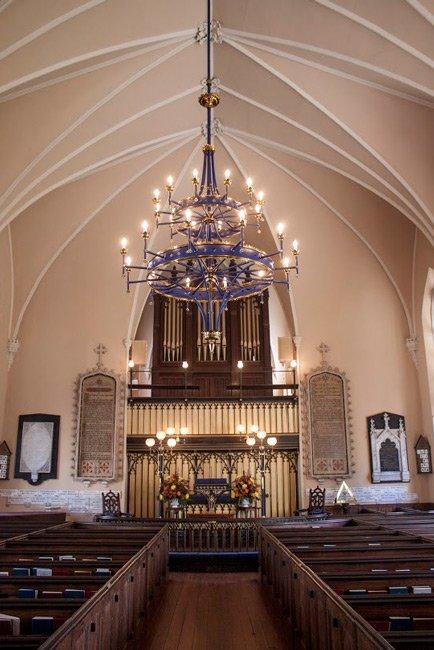 Huguenot Church Interior