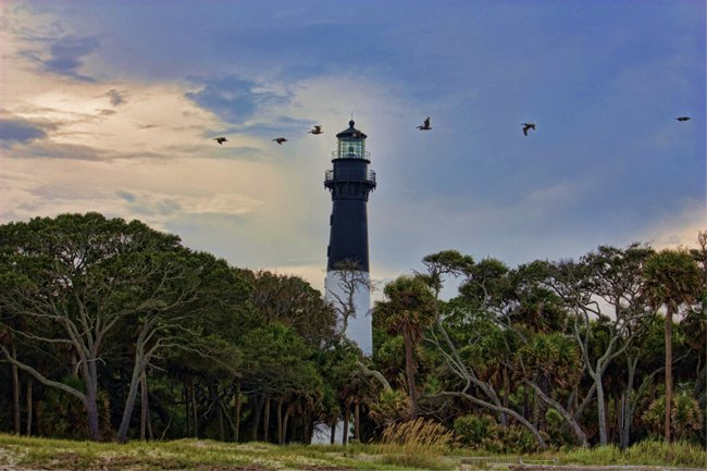 Hunting Island Lighthouse SC