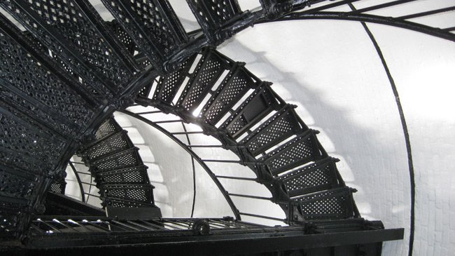 Hunting Island Lighthouse Staircase