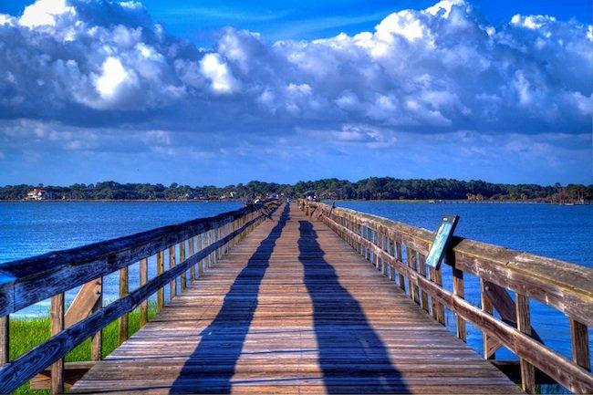 Hunting Island Pier