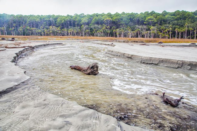 Hunting Island State Park Channel