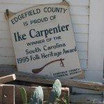 Folk Heritage Award Sign