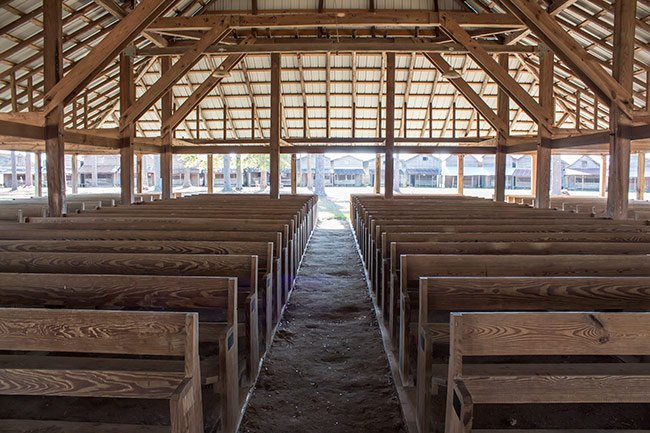 Indian Field Campground Tabernacle Interior
