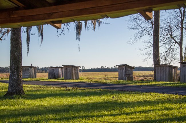 Indian Field Outhouses