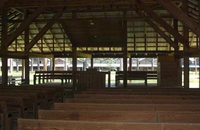 Indian Field Tabernacle Interior