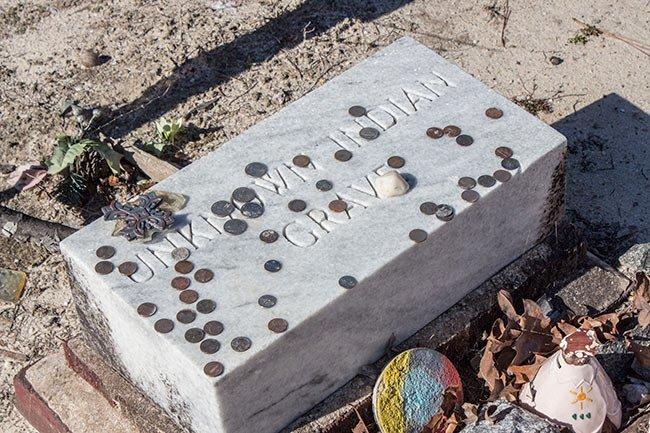 Unknown Indian Grave Sardis Methodist Church
