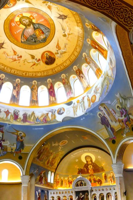 Inner Dome at the Columbia Greek Orthodox Church