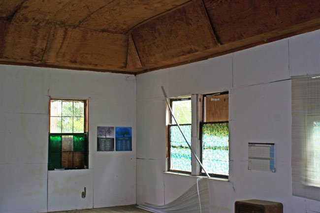 Inside Mount Nebo Church