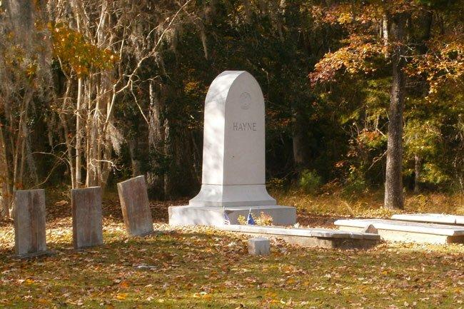 Isaac Hayne Grave Marker