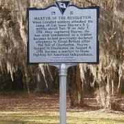 Isaac Hayne Burial Site