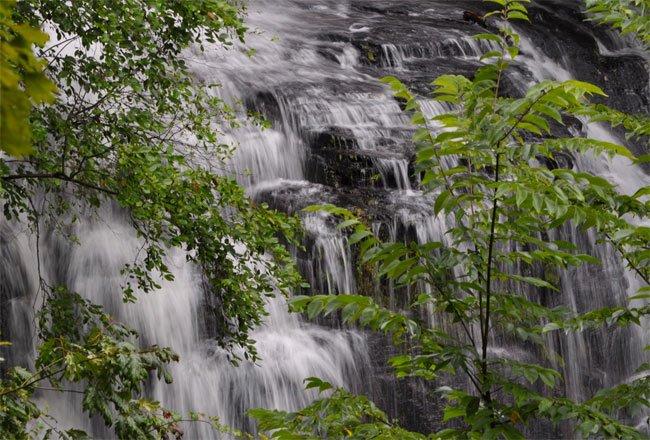 Issaqueena Falls Oconee County