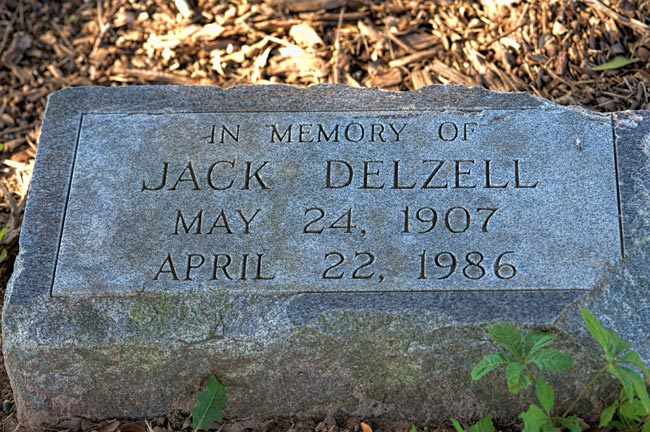 Jack Delzell Marker