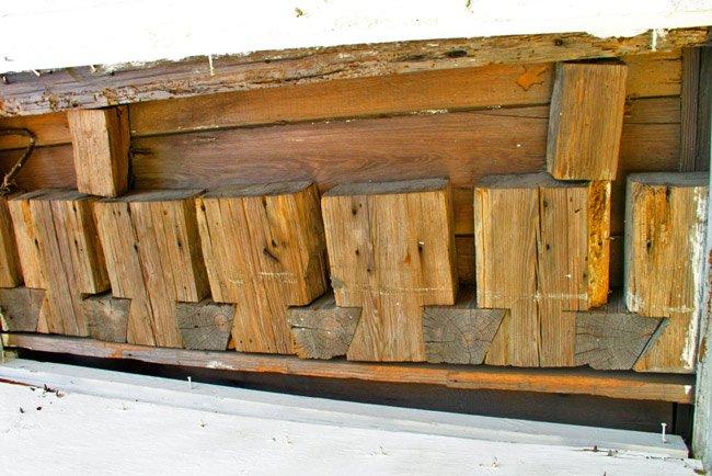 Jacob Kelley House Detail