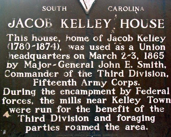 Jacob Kelley House Marker