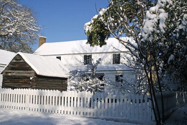 Jacob Kelley House Snow