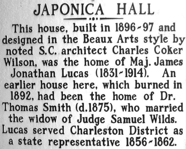 Japonica Hall Marker