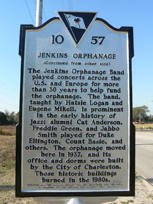 Jenkins Orphanage Historic Marker