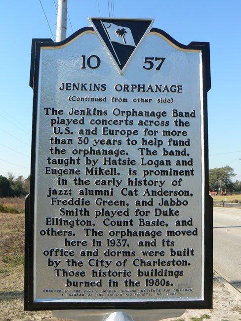 Jenkins Orphanage Historic Marker