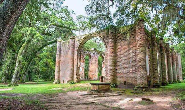 Jim Dollar - Sheldon Church Ruins