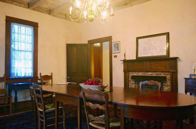 John Hart House Dining Room