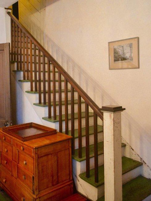 John Hart house Stairwell