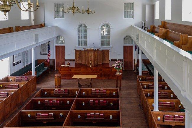Johns Island Presbyterian Interior
