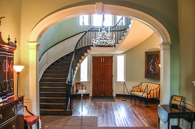 Joseph Manigault House Staircase